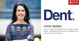 Ep 5. Cathy Burke on ending world hunger and empowering the world's most Unlikely Leaders