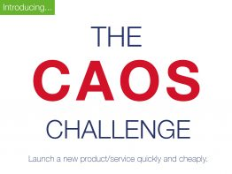 Introducing - The CAOS Challenge.